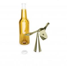 """Отварачка за бутилки """"TIPSY""""  - цвят месинг"""