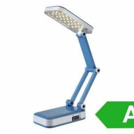 Настолна лампа - сгъваема, синя
