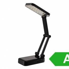 Настолна лампа - сгъваема, черна