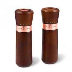 "Комплект мелнички за сол и пипер ""LYNDHURST CHESTNUT ROSE GOLD"""