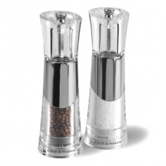 """Комплект мелнички за сол и пипер """"BOBBI"""" - 18,5 см."""