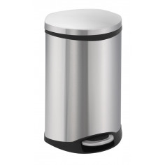 """Кош за отпадъци с педал """"SHELL"""" - 18 литра - мат"""
