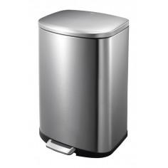 """Кош за отпадъци с педал """"DELLA"""" - 50 литра - мат"""