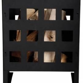 Съд за въглища, метален, 30x30x40 см