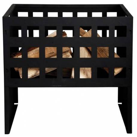 Съд за въглища, метален, 30x50x50 см