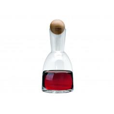 Стъклена гарафа за вино