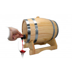 Диспенсер за вино - буре, 3 л.
