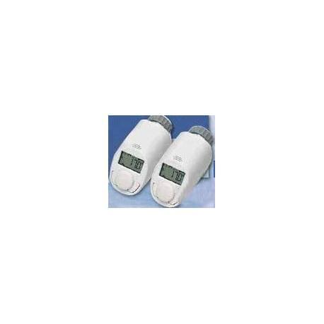 2 бр. терморегулатори за радиатори с автоматични обезвъздущители EQ3