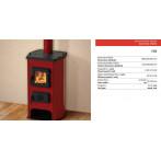 Сръбска печка на дърва и въглища ХИТ - 12 кВт