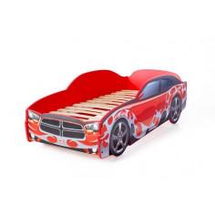 Легло кола DG Light - червено
