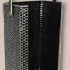 Лопатка за брикети - месинг