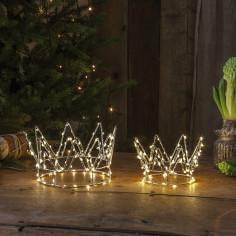 LED светеща корона Eglo - 4,2 W, 17х9,5 см, 4,5 V DC, 70 светодиода, IP20