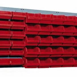 Mетален панел - 120 см, 3 компонента, 48 чекмеджета/кутии