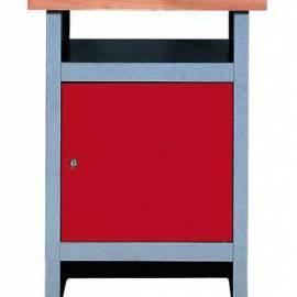 Шкаф метален - 60 x 84 x 60, 1 врата, тезгях