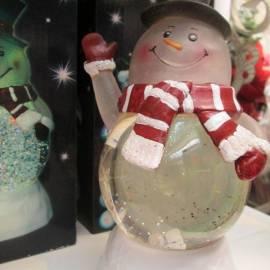 Снежен човек 20 x 16 см- 6 LED - RGB