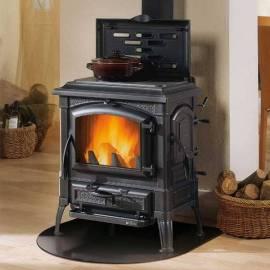 Чугунена печка - Isetta con cerchi Evo