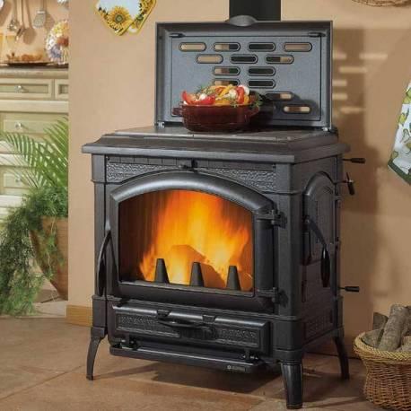 Чугунена печка - Isotta con cerchi Evo