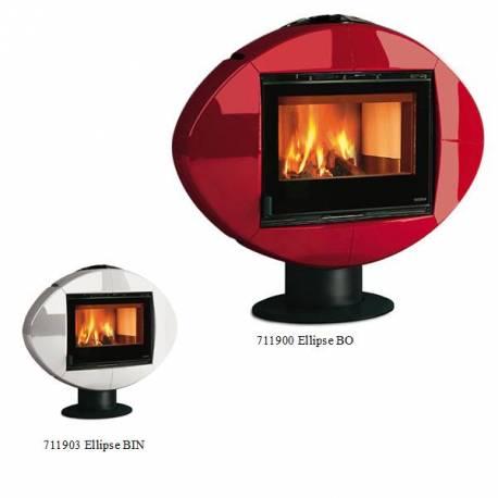 Печка на дърва -   Ellipse -  8 kW - Серия Carillon