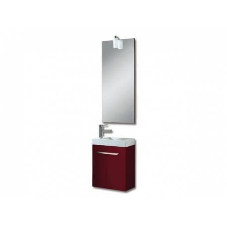 Мебели за баня Бижу, 40 см, MDF лилав гланц