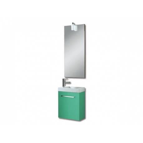 Мебели за баня Бижу, 40 см, MDF мента гланц