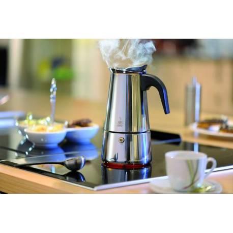 "Стоманена кафеварка ""Emilio"" за 6 кафета, 300ml"