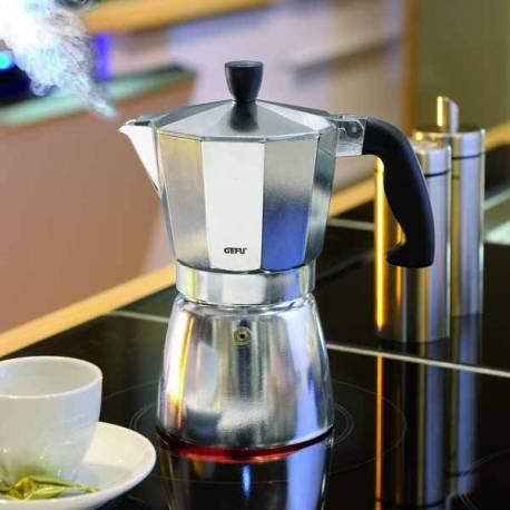 Алуминиева кафеварка Lucino - за 6 кафета, 330 ml
