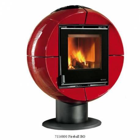 Печка на дърва -  Fireball -  6 kW - Серия Carillon
