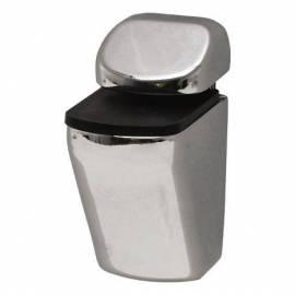 Държач за рафтове - miniclips, 2 бр. , сребрист