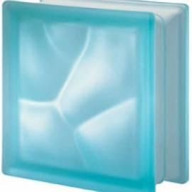 Aquamarina DO  сатен - стъклени тухли - 19 x 19 x 8 см