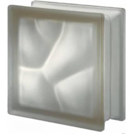 Sienna 19 сатен -стъклени тухли -19 x 19 x 8 (см)