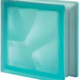 Turchese - сатен -стъклени тухли -19 x 19 x 8 (см)