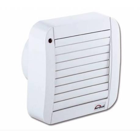 Вентилатор за баня  Air Circle,100 мм, бял със щори