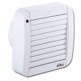 Вентилатор за баня Air Circle,125 мм, бял със щори