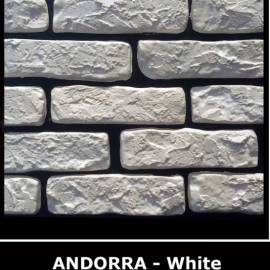 Декоративни тухлички Andora White