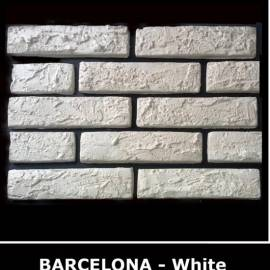 Декоративни тухлички Barcelona White