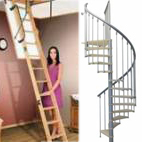 Тавански и интериорни стълби