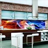 Принт гръб за кухня - термоустойчив