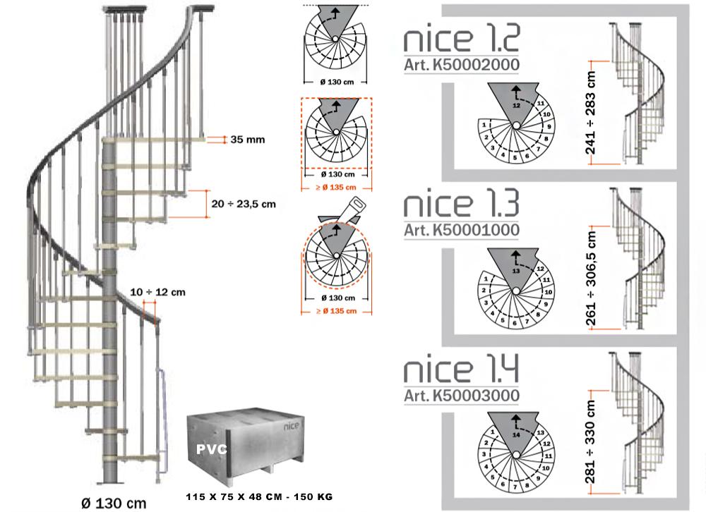 Схема на стълба НИЦА 1