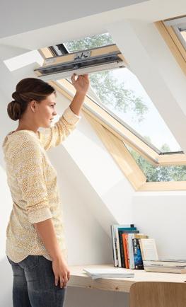 Покривен прозорец със троен стъклопакет - модел Стандарт плюс